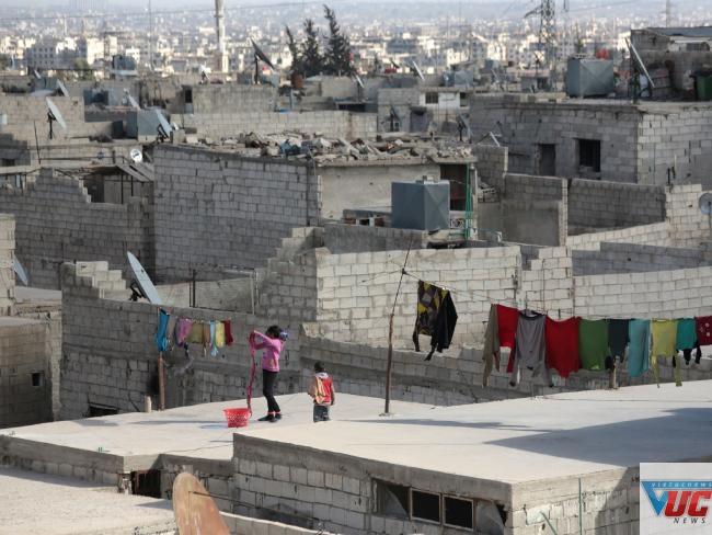 Syria đứng vị trí thứ 2 trong số các nước kém hạnh phúc nhất. Ảnh: AFP