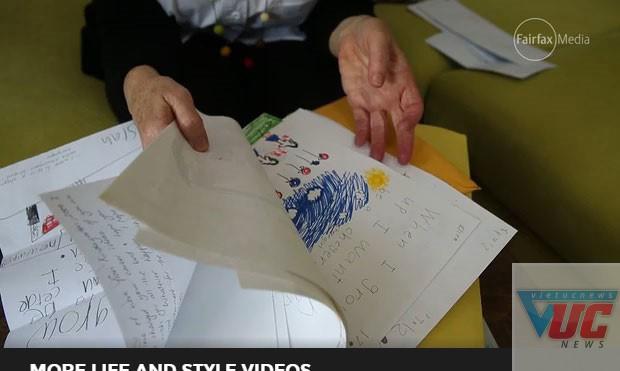 Những bức thư viết về nghề nghiệp tương lai của học trò được cất giữ cẩn thận