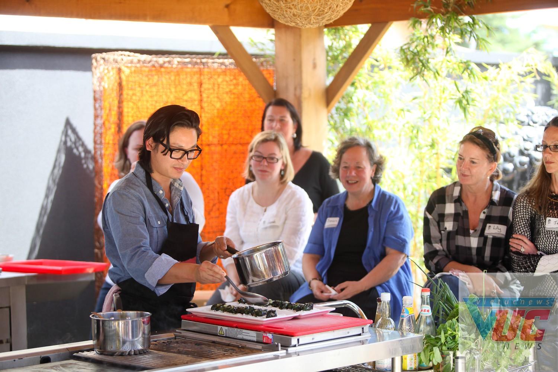 Luke Nguyễn thích mở một cơ sở theo mô hình nhà khách nhỏ, kèm theo trong đó là một trường dạy nấu ăn.