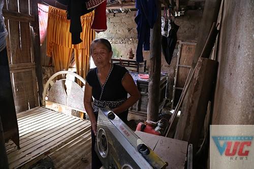 Một gia đình neo đơn bị thiệt hại nặng nề sau lũ