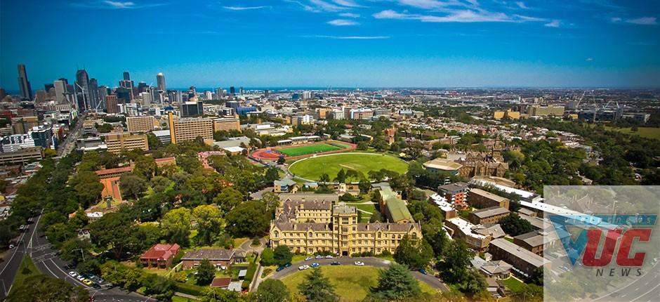 """Ngôi trường đẹp lộng lẫy University of Melbourne không chỉ là trường Đại học tốt nhất, mà còn là ngôi trường """"giàu có"""" nhất nước Úc."""