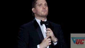 Michael Buble revealed his 3-year-old son has cancer. Photo: AP