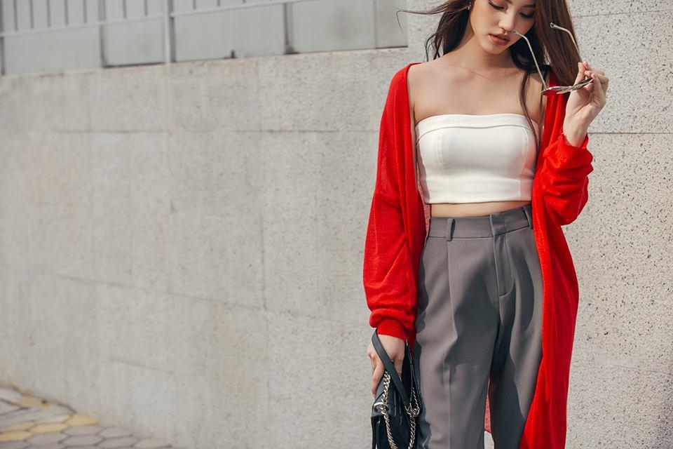 2 - Hoa hậu thế giới người Việt ở Úc quyến rũ với thời trang dạo phố