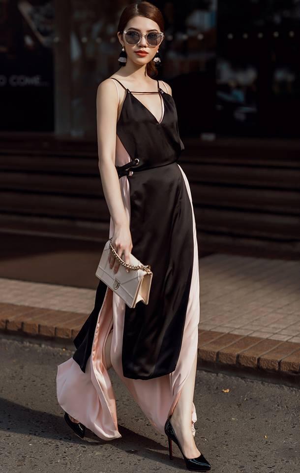 3 - Hoa hậu thế giới người Việt ở Úc quyến rũ với thời trang dạo phố