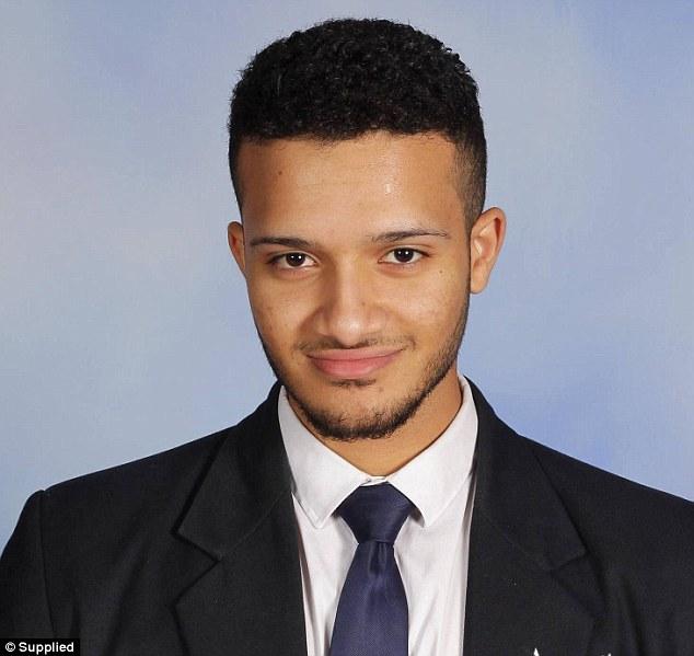 Omar Moujalled 18 tuổi.