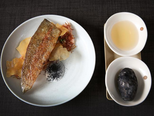 Perfect trout at Tani. Eat. Drink in Bright