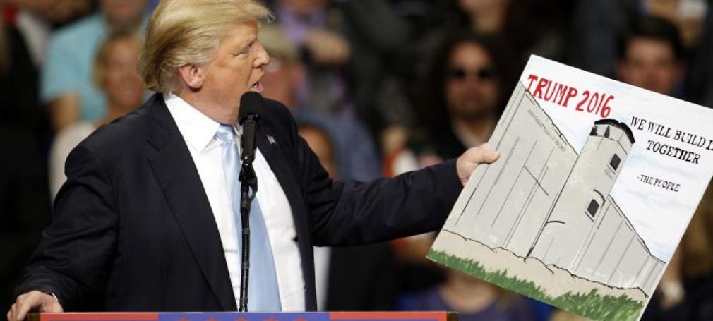 Donald Trump đắc cử tổng thống.