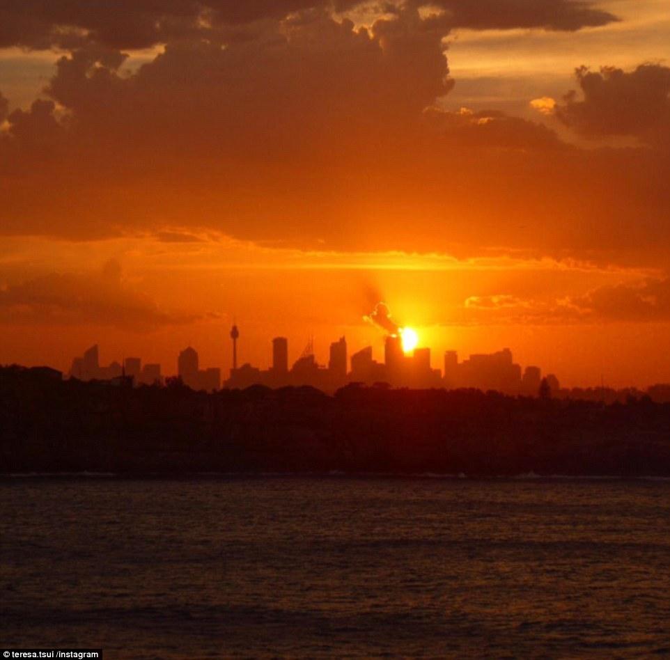 Không khí nóng ở Sydney theo dự báo sẽ không kéo dài lâu.