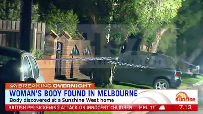 Một thi thể của người phụ nữ được tìm thấy ở Sunshine West