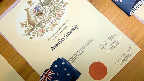 Luật quốc tịch Úc mới nhất