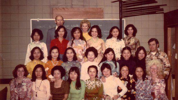 Hedren và những học viên đã tốt nghiệp