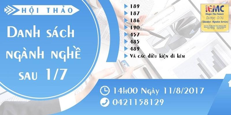 Buổi hội thảo sẽ do chị Anh Nguyễn (Registered Migration Agent 1791946) đảm nhiệm.