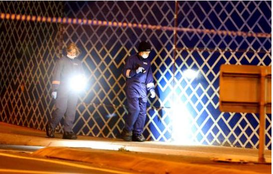 Cảnh sát đang tìm kiếm quanh vùng ga Tottenham khi người đàn ông bị đâm tới chết