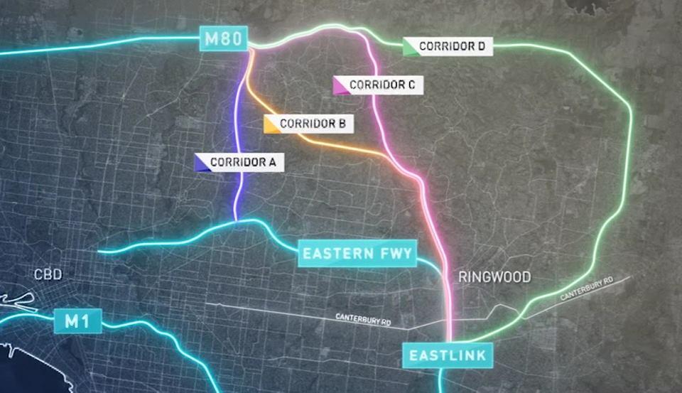 Melbourne sẽ kết nối thêm 4 đường Freeway mới với nhau